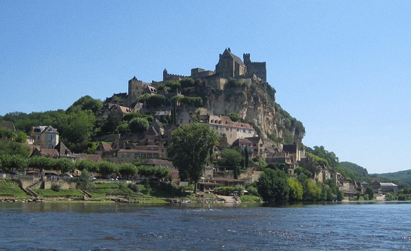 Beynac et Cazenac in the Périgord in France