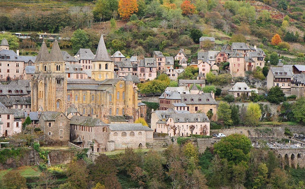Conques in France