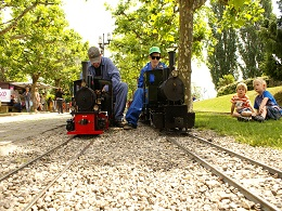 Locomotive Lausanne Suisse - Mini train