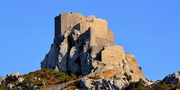 Queribus Castle in Cathar Country